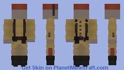 World War I - Ottoman Infantry Minecraft Skin