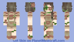 ∽ Overgrowth ∽ Minecraft Skin