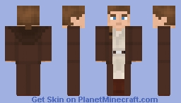 Obi-Wan Kenobi - Star Wars: Episode 1: The Phantom Menace Minecraft Skin