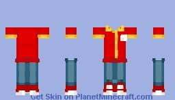OXXO uniforme Minecraft Skin