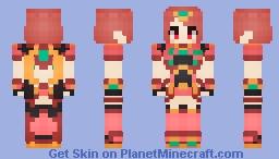 Pyra (Xenoblade Chronicles 2) Minecraft Skin