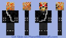 Ghost rider Minecraft Skin