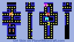 pac-man Minecraft Skin