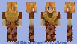STAR WARS PADME AMIDALA (TRAVEL) Minecraft Skin