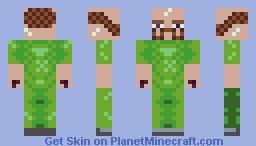 Turtle armyman Minecraft Skin