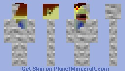 Pamela's Father from Legend of Zelda: Majora's Mask Minecraft Skin