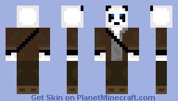 Panda Adventurer Minecraft Skin