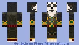 Pandaren - World of Warcraft Minecraft Skin