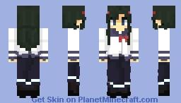 Pansy sin lentes (Oresuki) Minecraft Skin