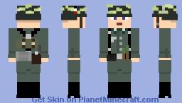 WW2 [HEER] German Panzergrenadier Rifleman Minecraft Skin
