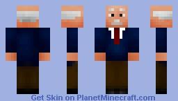 President Papandreou Minecraft Skin