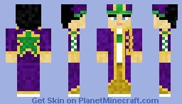 Part 6 Jotaro Minecraft Skin