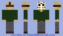 Jason Voorhees - Friday the 13th part III Minecraft Skin