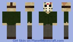 Jason Voorhees - Friday the 13th Part IV Minecraft Skin