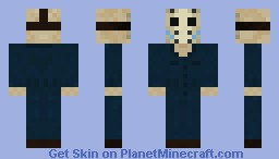 Roy (Imposter Jason) - Friday the 13th part V Minecraft Skin