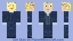 Simon Baker as Patrick Jane Minecraft Skin