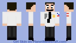 Paul Blart Mall Cop Minecraft Skin