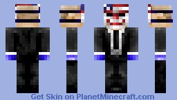 PAYDAY 2 (Dallas) Minecraft Skin