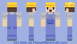 [Flat] Farmer Minecraft Skin