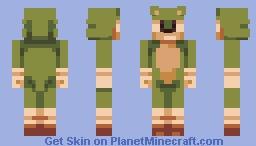 Green Sonic - PBL Minecraft Skin