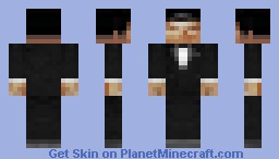 Goldeneye 007 - James Bond (Pierce Brosnan) Minecraft Skin