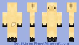 Peach llama Minecraft Skin