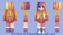 Peach Sunset // CE Minecraft Skin