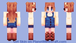 wowie the new decade is here Minecraft Skin