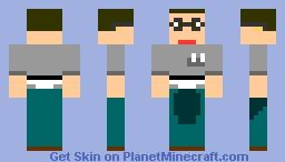 Wedgie Pee Pants Minecraft Skin