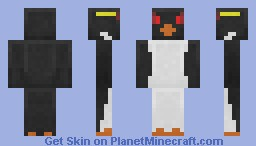 Rockhopper Penguin Minecraft Skin