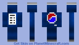 Can Of Pepsi Minecraft Skin