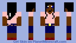 person 4 Minecraft Skin
