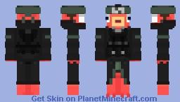 Pescadito Anti Otakus verde Minecraft Skin