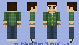 Peter Parker (Marvel's Spider-Man (PS4)) Minecraft Skin