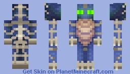 Phantom Hybrid Minecraft Skin