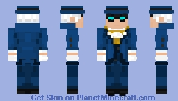 Phantom Stranger | DC comics Minecraft Skin