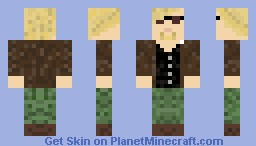 "Phillip Seymour Hoffman from ""The boat that rocked"" Minecraft Skin"