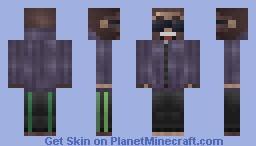 Gangsta monkey Minecraft Skin
