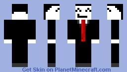 Random ^_^ guy (w/ Tie) Minecraft Skin