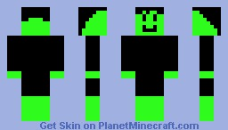 Random Green Guy Minecraft Skin