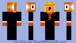 Magikarp in a buisness suit [3D] Minecraft Skin