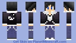 Classic OkamiKoi Minecraft Skin