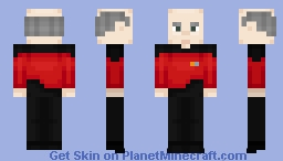 Jean-Luc Picard Minecraft Skin