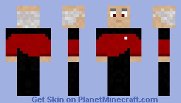 Picard Minecraft Skin