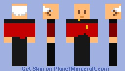 Captain Jean-Luc Picard Minecraft Skin