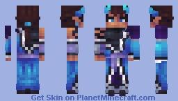 Pierce Aphmau Minecraft Skin