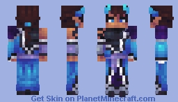 Pierce the Daemos Minecraft Skin