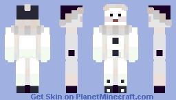 pierrot Minecraft Skin