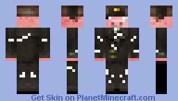 Pig Ushanka Battle damaged Minecraft Skin
