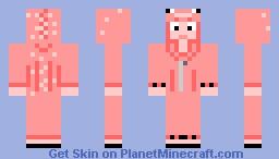 Halloween pig costume Minecraft Skin